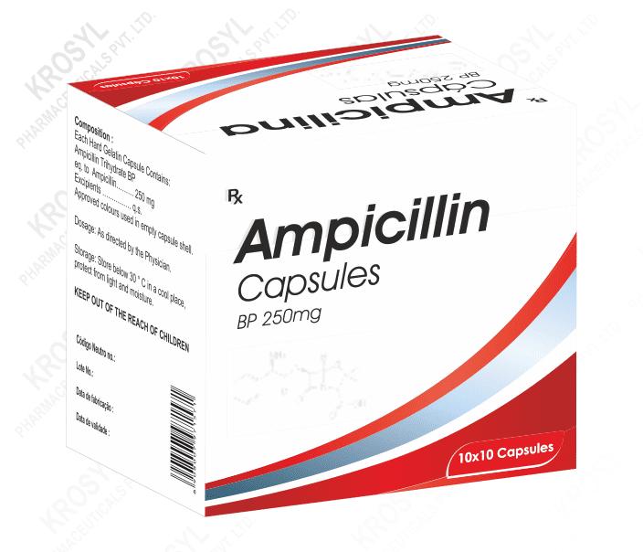 Ampicillin capsules price in india